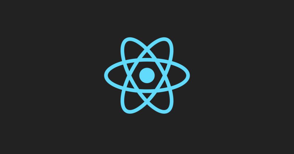 A logo of React Native