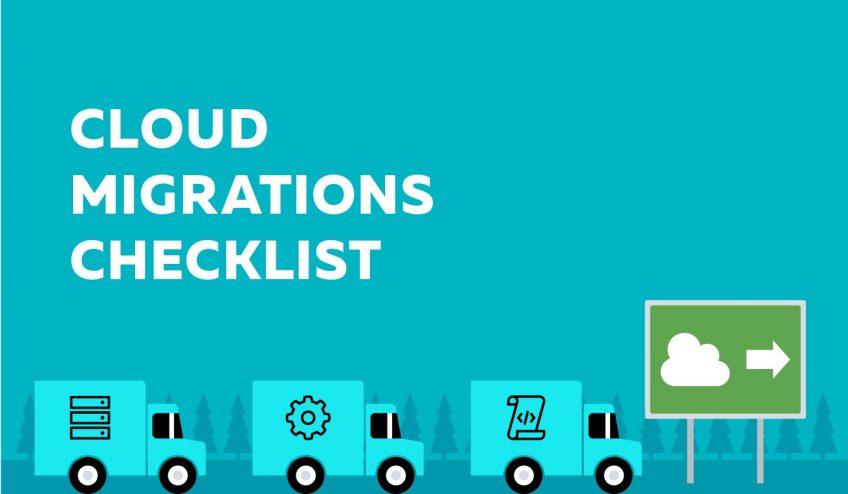 Cloud migration checklist illustration