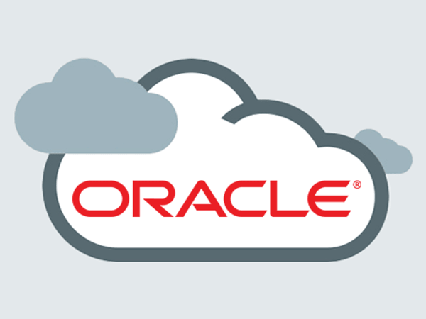 An Oracle Cloud logo