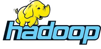 A logo of Hadoop