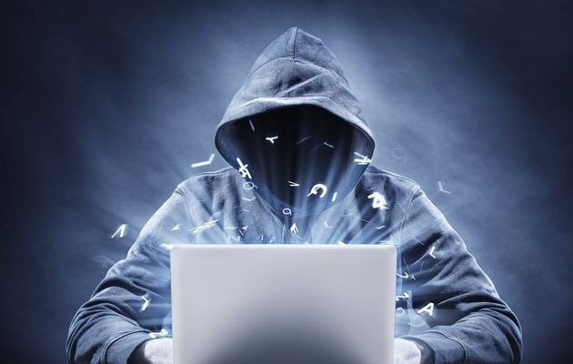 An image of a hacker