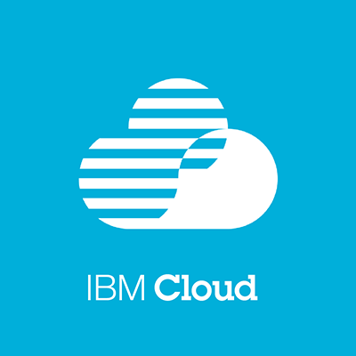 An IBM Cloud logo