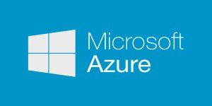 A logo of Microsoft Azure platform