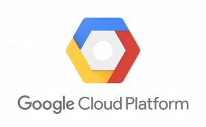 A logo of Google Cloud Platform
