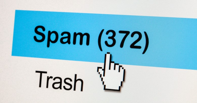 An illustration of spam