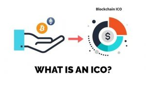An illustration of ICO