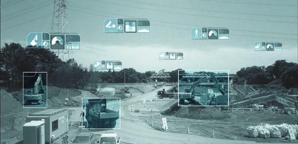 An illustration of machine vision