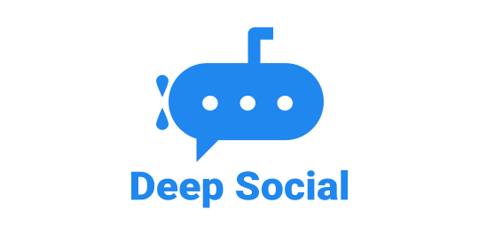 A logo of Deep Social