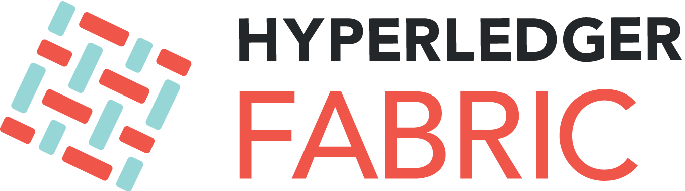 A hyperledger fabric logo