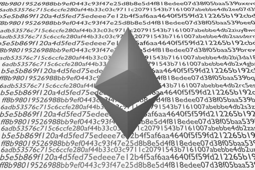The Ethereum logo