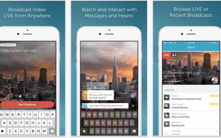 a screenshot of a live streaming app