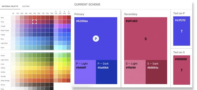 8 Trends In Mobile App Color Scheme Devteam Space