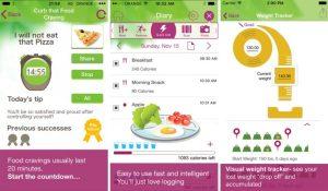 a diet app