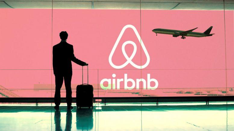 An Airbnb logo