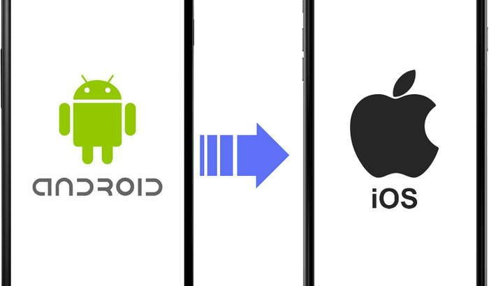 Android and iOS logos