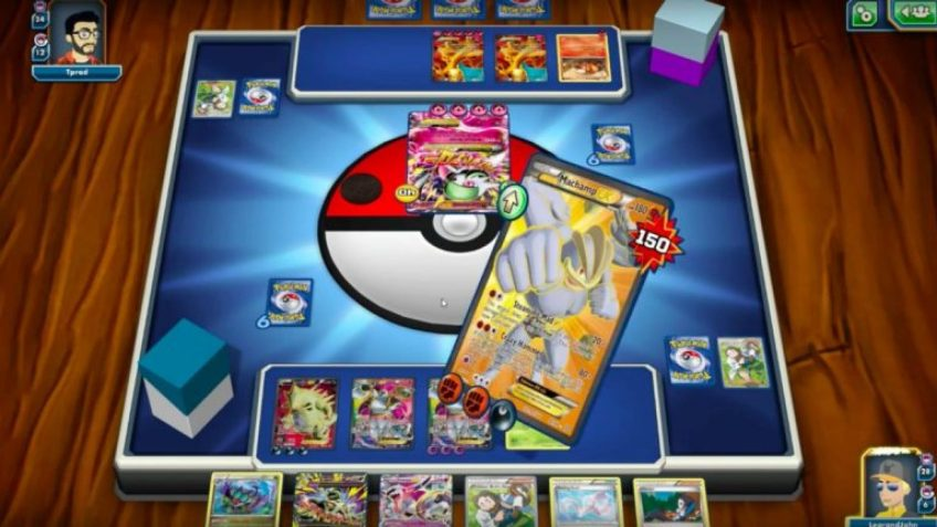 A screenshot of a Pokemon trading game