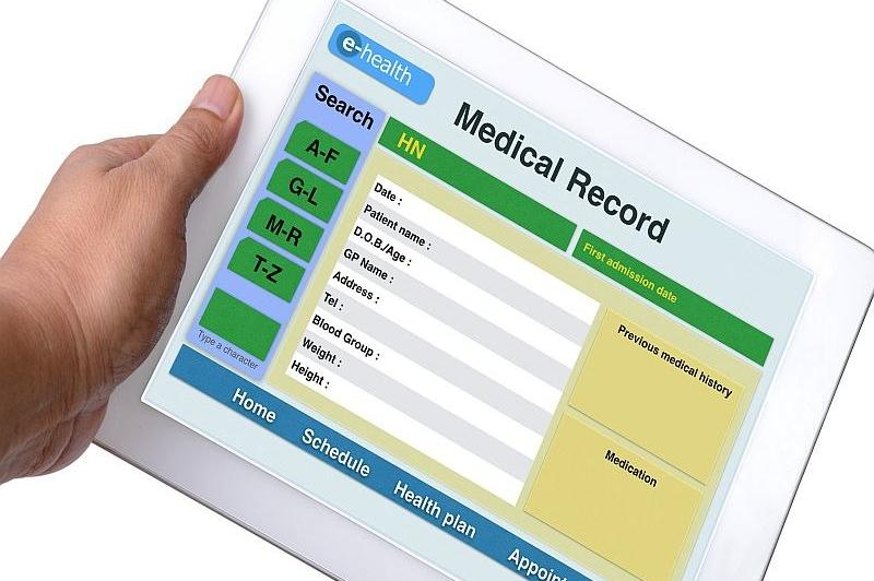 A screenshot of an electronic medical record