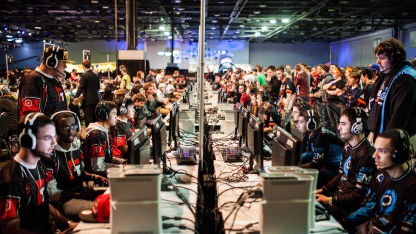 An eSports tournament