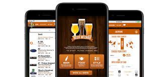 a screenshot of a beer app