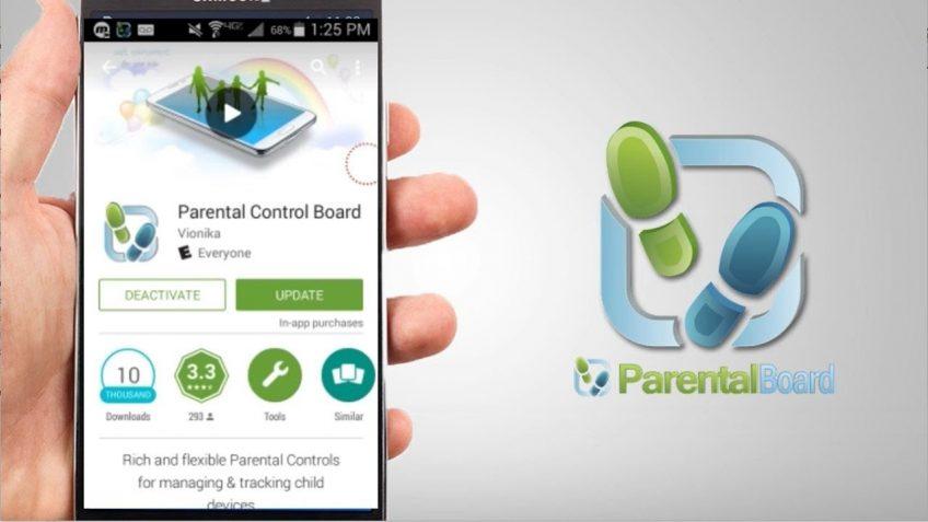 An example of parental control app
