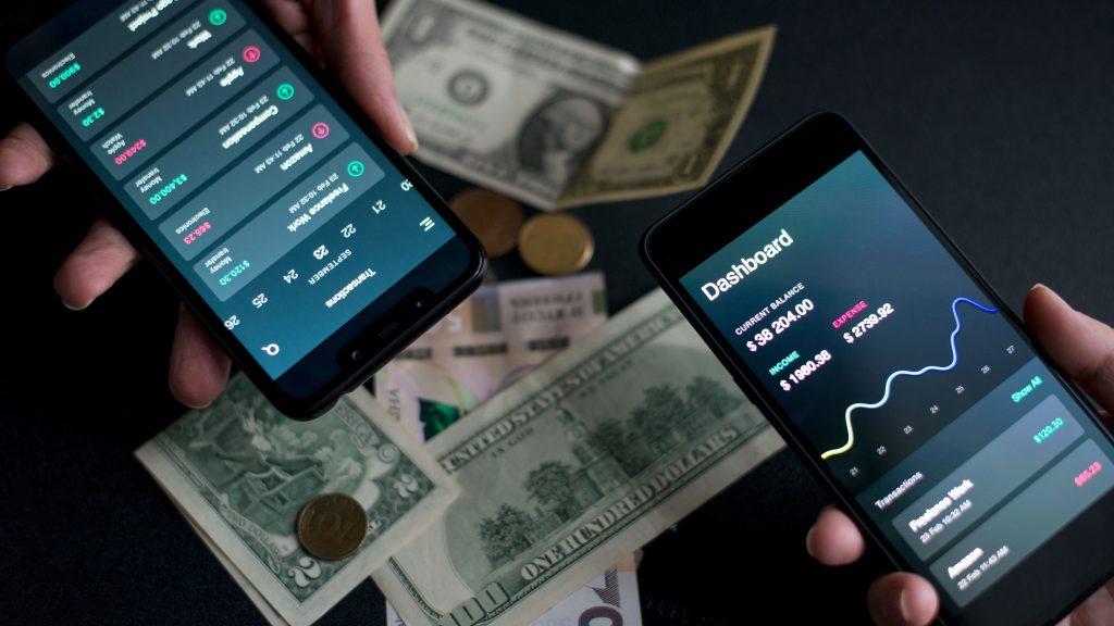 create fintech money app