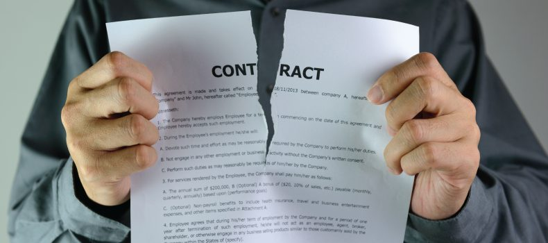 exiting a contract